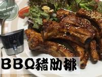 氣炸鍋 BBQ豬肋排 (簡易食譜)