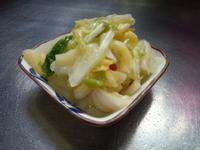 清爽台式泡菜