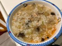 飛利浦萬用鍋-鮭魚菇菇粥(寶寶粥)