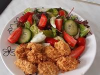 麥脆雞沙拉