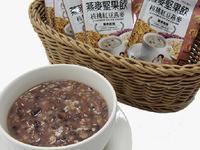 核桃紅豆桂圓糯米粥