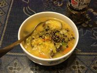 皮蛋蟹肉粥
