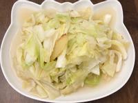 溫補麻油炒高麗菜