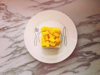 免烤箱!只要攪拌!豆漿盒做芒果生乳酪