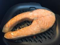 氣炸鍋@鮭魚&南瓜