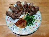 【懶人料理】玉米筍牛肉片捲