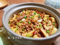 豬肉鮮蔬豆腐煲