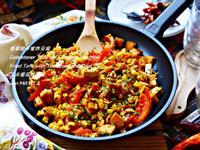 番麥柑仔蜜炒豆腐
