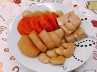 清滷蘿蔔黃帝豆、豆干料理