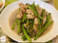干貝炒蘆筍
