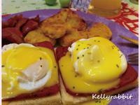 美式早午餐-班尼迪克蛋(Eggs Benedict)