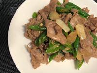 [減醣] 糯米椒炒肉片