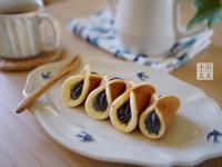 平底鍋甜點~ 芝麻半月燒(元寶蛋糕)