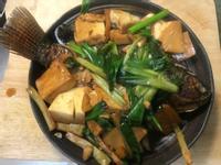 紅燒豆腐吳郭魚