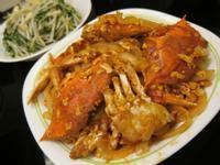 洋蔥茄汁炒三點蟹