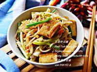 豆菜炒豆腐