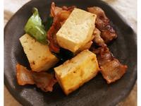 肉片炒豆腐 (露營OK)