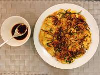 韓國韭菜牛肉煎餅