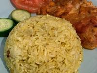 印度🇮🇳黃薑飯配雞扒