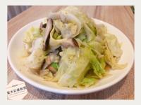 胡椒香菇高麗菜