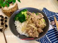 日式味噌豬肉丼飯