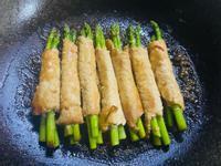 薑燒蘆筍肉卷