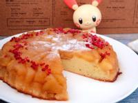翻烤蘋果蛋糕
