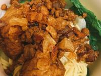 簡單料理-學生在外肉燥麵/飯