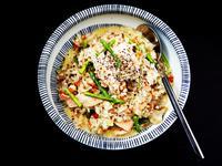 食煮#20 奶油蘆筍燻鮭魚義大利麵