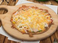 鮭魚小卷披薩