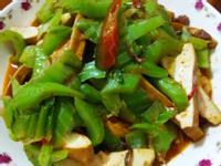 簡易家常菜-XO醬炒芥菜豆乾