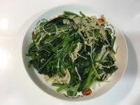 金針菇炒菠菜