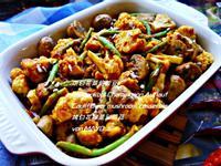 烘白花菜佮敏豆
