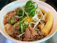 日式★彡 壽喜牛丼飯