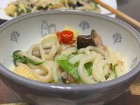 超烏龍麵(清淡多菜版本)