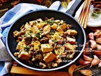 阿菇炒豆腐