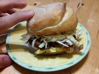 【早餐系列】照燒牛肉堡