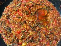 魚干辣椒醬