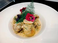 瑞典美食主題-蒔蘿夏多內奶油燉雞
