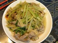 薑汁芹菜燒酒豬