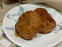 金針菇豆腐漢堡排
