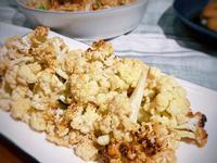 蜂蜜烤白花椰菜