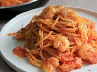 蕃茄蝦肉意大利麵