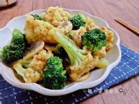 咖哩蘑菇花椰菜