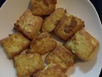 酥炸雞蛋豆腐(平底鍋版)