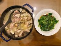 蒜頭香菇蛤蜊雞湯✨