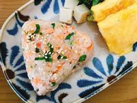 青蔥鮭魚飯糰