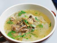 蘑菇洋蔥牛肉湯