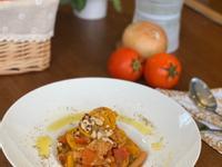 蔬食料理 - 新豬肉茄香義大利麵
