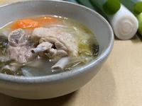大王日本大蔥燉雞湯